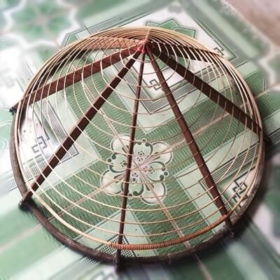 conical hat frame