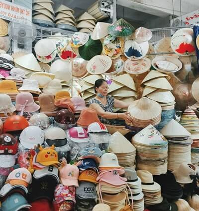 selling vietnamese hat